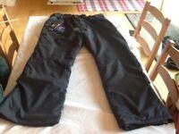 Trespass Salopettes TP75 (Medium Size, Black)