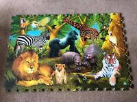 ELC Foam Floor Jigsaw Puzzle 1080 X 720mm - Excellent Condition - Jungle