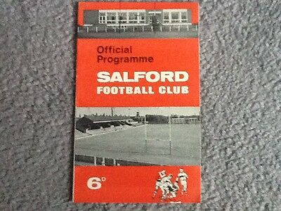 Salford v Warrington 1966