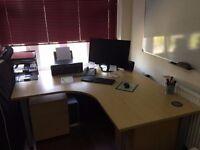 DESK - Large corner desk