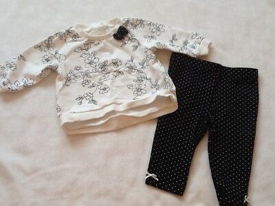 Baby Girls Little Me Outfit, Size 6 Months