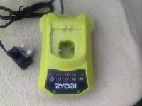 Ryobi one + 18v battery charger,,new