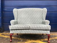 HSL BUCKINGHAM 2 SEATER COUCH SOFA - AS NEW CONDITION - DELIVERY AVAILABLE