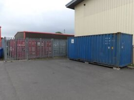 20 ft Container To Let Thirsk Industrial Estate Thirsk North Yorkshire YO7 3TF