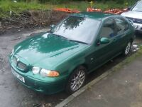 MG ZS with only 56000 miles £425 no offers