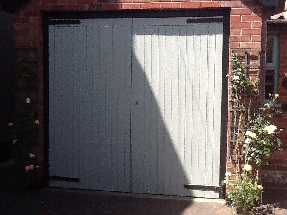 Pair Of Wooden Garage Doors In Lowestoft Suffolk Gumtree