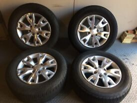 """5 x Ford Ranger T6 Wildtrak Alloys 18"""" With Tyres"""