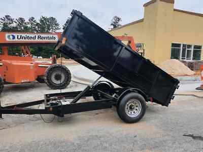 New 2021 5 X 10 5200 Gvwr Hydraulic Dump Trailer In Stock Today  Brand New