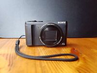 Sony HX60V Cyber-shot, Sony leather case, compact camera, mint condition, barely used I have a dslr