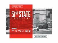 3 x Tickets to 51st State - £100 each - Found Series Festival - Genuine Tickets in Hand