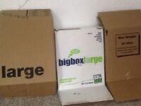 10 Big Box packing boxes