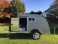 * GO GLAMPING * Hire a lovely Teardrop Van!