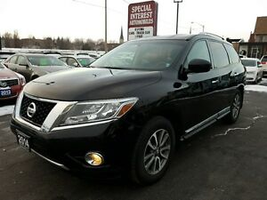 2014 Nissan Pathfinder SL SL !! 4X4 !! NAVI !! QUADS LEATHER...