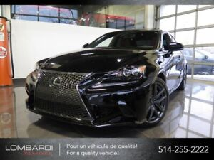 Lexus IS 350|F SPORT SERIE 3|CUIR ROUGE|NAVIGATION|MARK LEVINSON