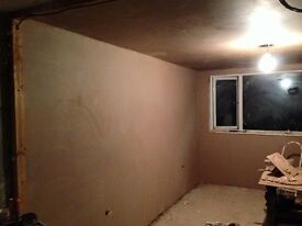 PLASTERER AVAILABLE FOR WORK PRIVATE WORK AND COMMERCIAL WORK UNDERTAKEN