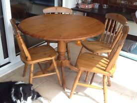 Pine dining rpm table