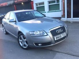 Audi A6 2.0 TDI AUTOMATIC PADDLE SHIFT EXCELLENT CONDITION 2 PREVIOUS OWNERS LONG M.O.T ONLY £4495