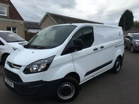 Ford Transit Custom 2016 FSH 54757 NEW Disks and Pads