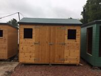 sale 10ft x 6ft wooden garden shed