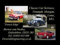 Mechanic Classic Cars Experienced Part time