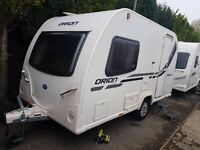 Bailey Orion 400/2 2 berth caravan 2013, Awning, VGC, light to tow, Bargain !