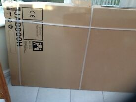 800mm shower side screen