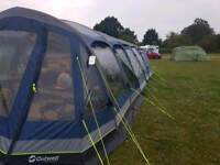 Camping set up Outwell hornet 6sa airbeam tent