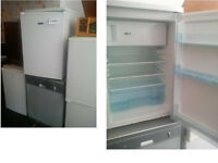 ICEKING UNDER COUNTER FRIDGE WITH SMALL FREEZER COMPARTMENT GOOD WORKING ORDER CAN BE SEEN WORKING