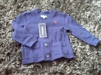 Brand New with Tags - Ralph Lauren Boys Cardigan