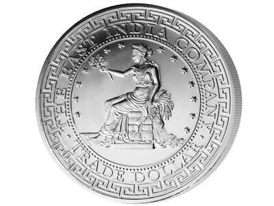 1 Pound Pfund Silver US Trade Dollar Liberty St. Helena 1 oz Silber 2018 (Silber Pfund)