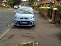 Kia Picanto for sale 2013. Very low mileage, mot for full year. Great value at £4600