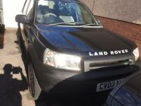 LAND ROVER FREELANDER 03 LOW MILES