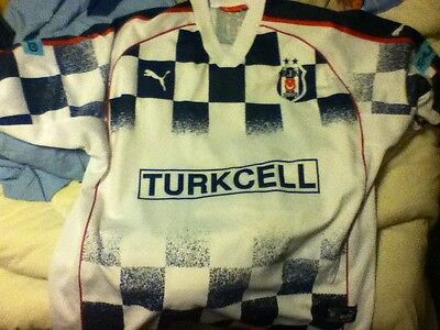 Besiktas (turkish) Football Shirt XL #55 Akin