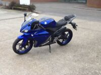 yamaha yzf r125 r 125 cbr 125 gsxr 125 rs 125 can deliver