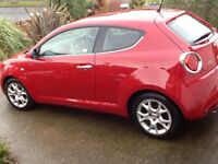 Alfa mito multi air lusso 1.4 turbo in Alfa red(best colour)lovely condition.