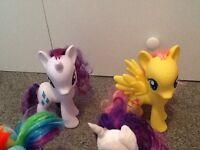 My little pony 7 piece set