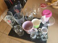 Lots of glassses and mugs
