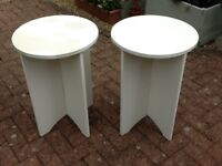 Chipboard tables