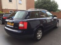 2003 03 Audi A4 Avant 1.9 Tdi Estate *FSH* MOT MAY 2017 * 1 Owner From New* not 320d Touring a6 520d
