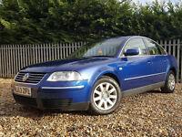 2003 VW PASSAT 1.9TDI 130HP, FULL 1 YEAR MOT, VERY CLEAN , DRIVES LOVLEY, BARGAIN, L@@K!!!!