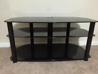 FREE Black Tinted Glass TV stand