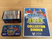 Match Attax Trading Cards 2008/2009 with Binder & Tin
