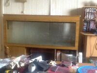 Four foot fish tank and stand