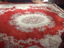 EXTRA LARGE CHINESE RUG 12ft X 9ft