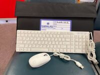 Wired Keyboard and Mouse + Protective Case