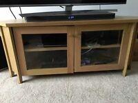 IKEA Oak TV Corner Unit
