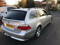 2006 Bmw 525se diesel touring estate,AUTO full leather,poss take cheap p/ex and cash