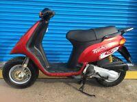 Piaggio typhoon moped 50cc