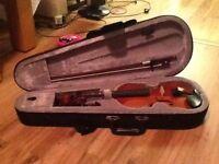 1/2 size violin bundle
