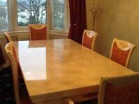 Pool dinning room table